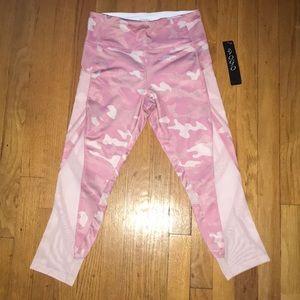 Pink camp leggings.